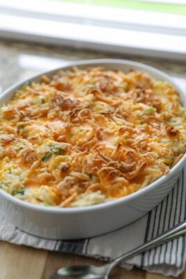 baked leftover turkey casserole