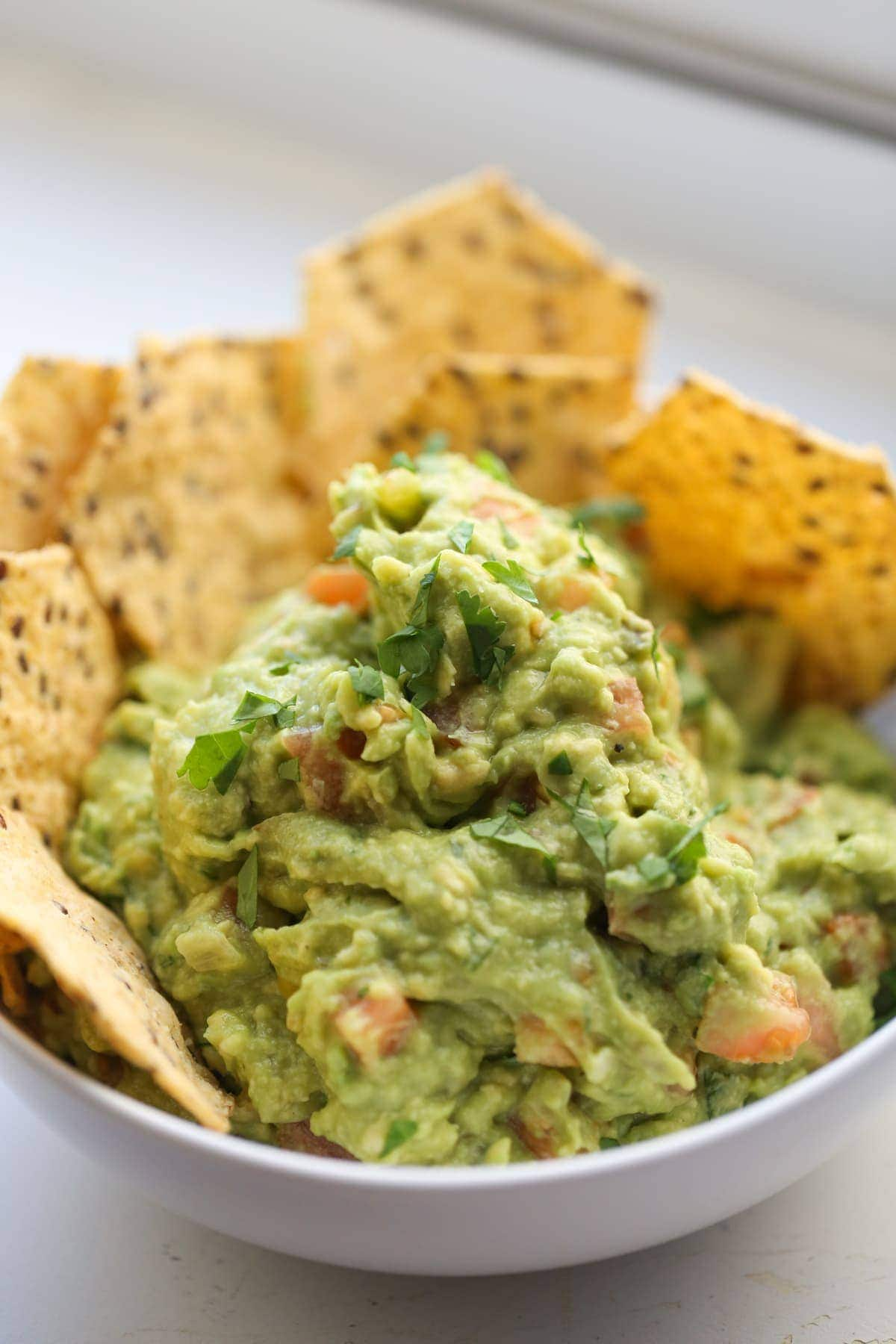 Classic Guacamole Recipe Lauren S Latest