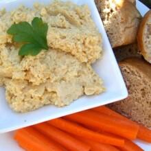 Garlic Hummus Recipe