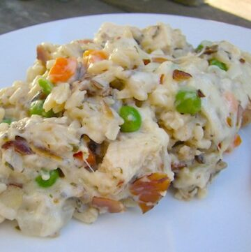 Chicken Wild Rice Casserole