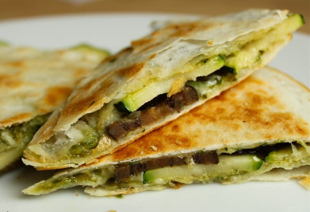 Vegetarian Quesadilla Recipe With Pesto Lauren S Latest