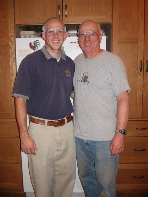 Gordon and his dad