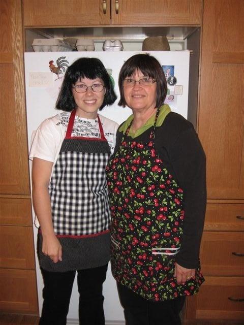Lauren and her mother in law