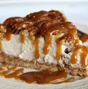 Caramel Pecan Pie Cheesecake