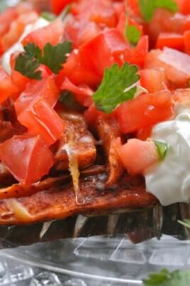 Sweet Potato Nacho Fries