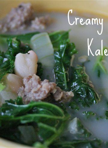Creamy Sausage & Kale Soup