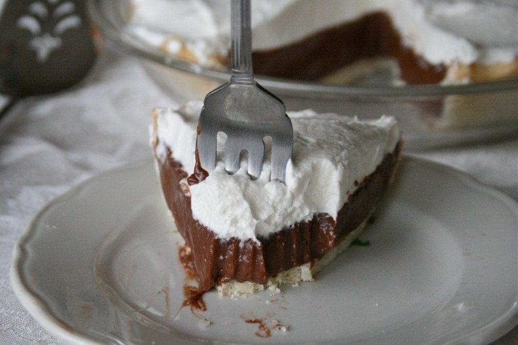 Nutella Cream Pie
