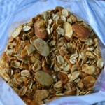 Simple Orange Almond Granola in a bag