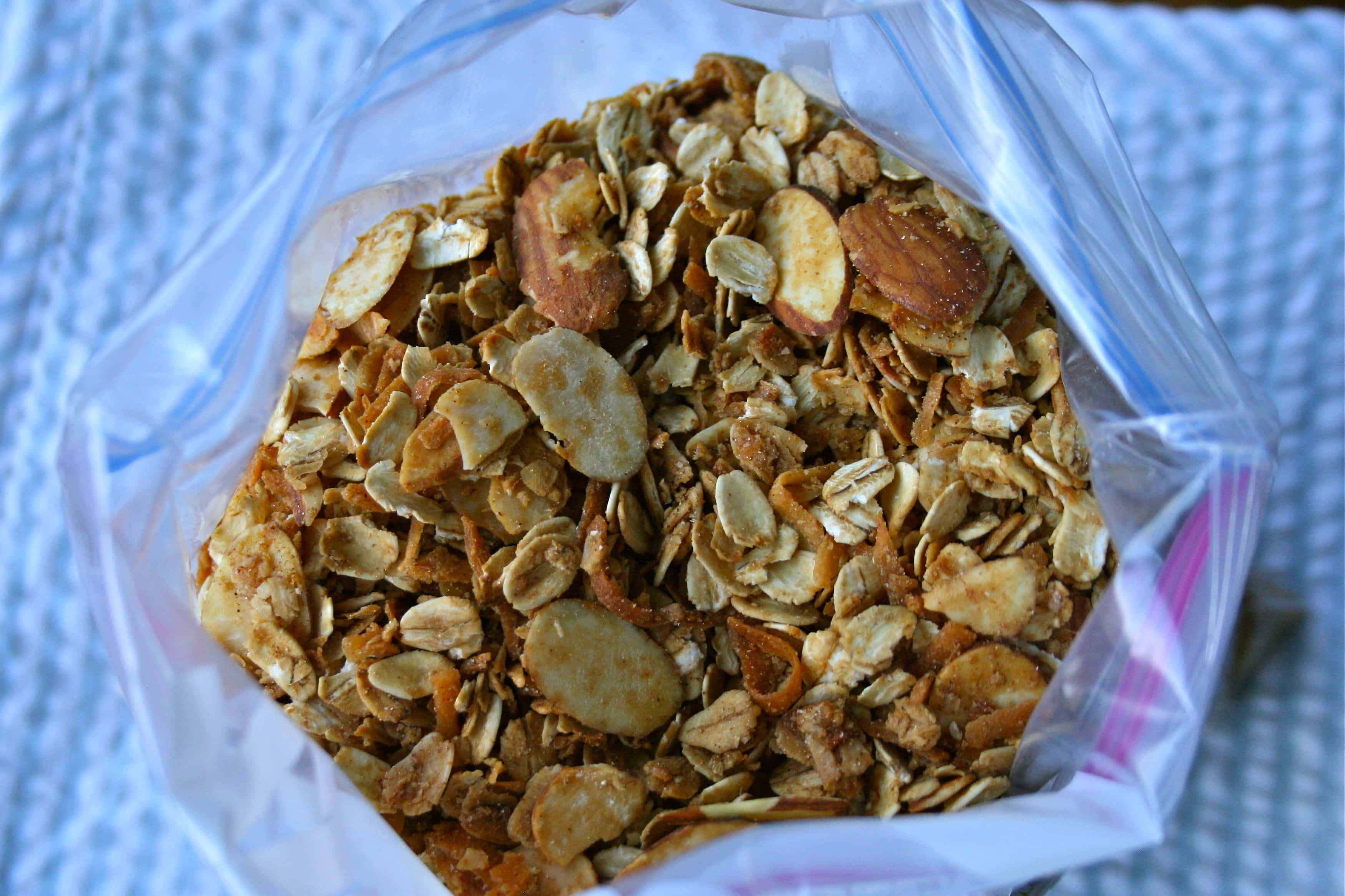 Simple Orange Almond Granola
