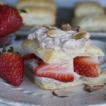 Strawberry & Chocolate Cream Napoleons