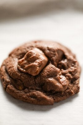 snickers cookies