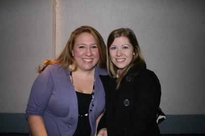 Lauren and friend