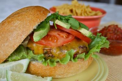 Southwest Turkey Burgers