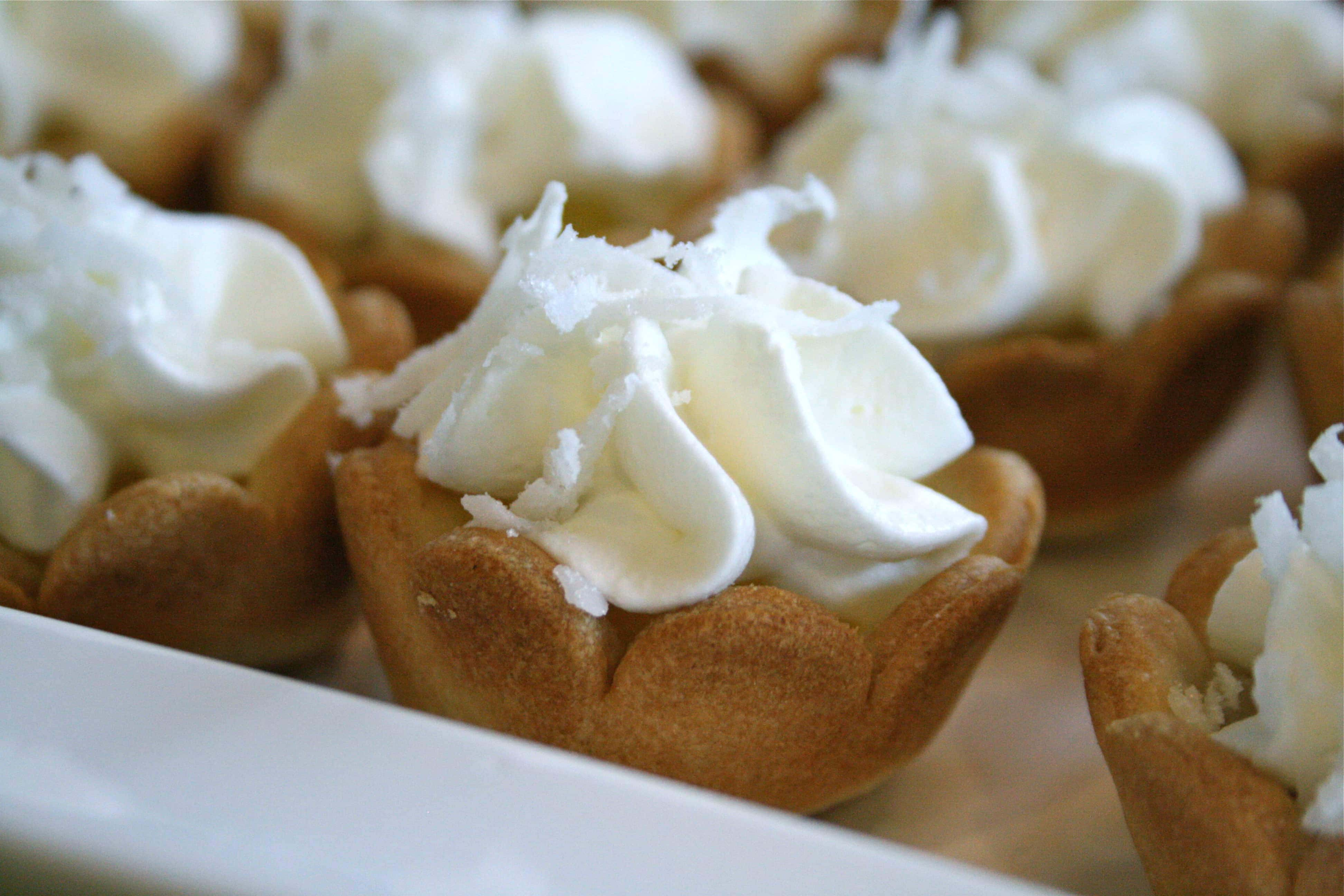 Mini Coconut Cream Pies
