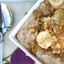 Steel Cut Oatmeal