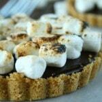 Chocolate Truffle S'more Tarts