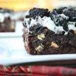 Cookies n' Cream Brownie Bars