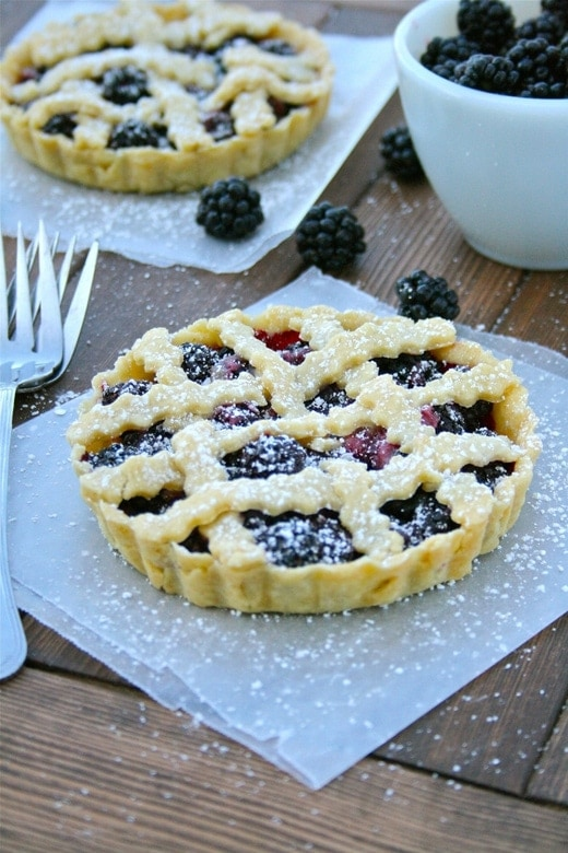 Mini Blackberry Pies