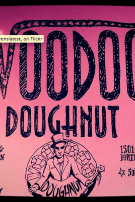 Voodoo Doughnuts Box