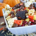 Monster Munch {Halloween Snack Mix}