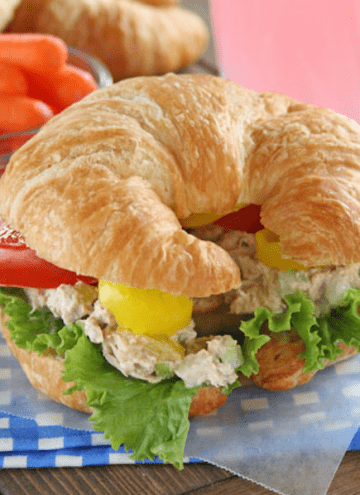 The Best Tuna Fish Salad Sandwich