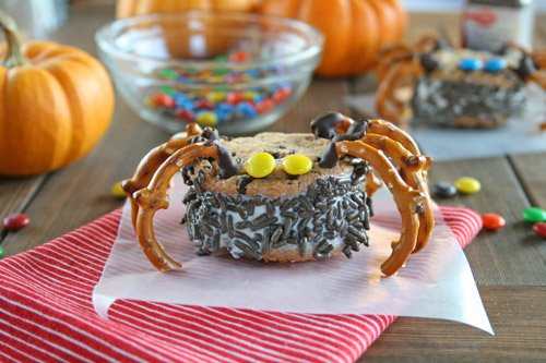 Ice Cream Sandwich Spiders