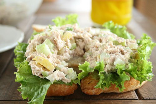 Tuna Salad on Croissant