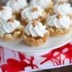 butterscotch tarts on a platter