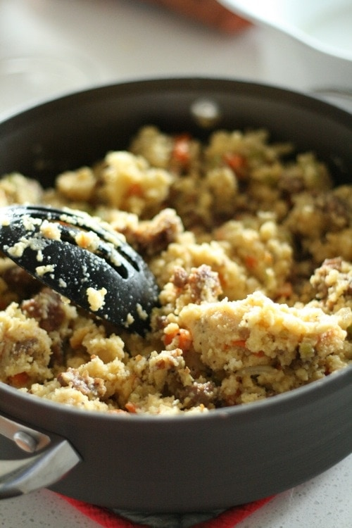 Thanksgiving Recipes Part I: Sausage Cornbread Stuffing ...