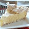 egg nog cream pie