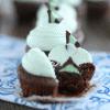 mint truffle brownies