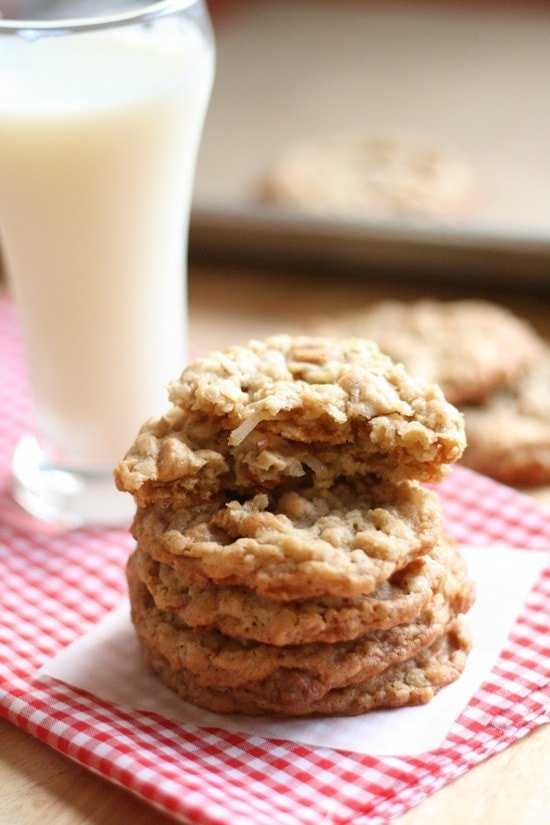 Peanut Butter Coconut Oatmeal Scotchies