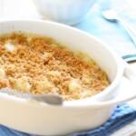 Gnocchi & Bacon Gratin with Garlic Bechamel
