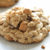 snickers stuffed loaded peanut butter oatmeal cookies