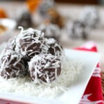energy balls with coconut