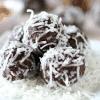 coconut almond energy bites