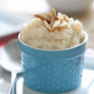 almond vanilla rice pudding