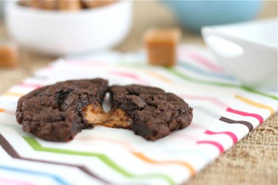 Salted Caramel Brownie Cookie