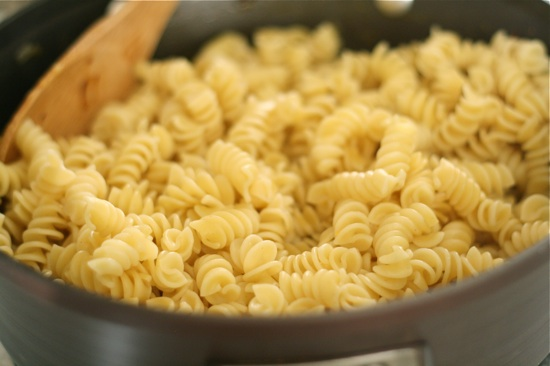Cooked pasta