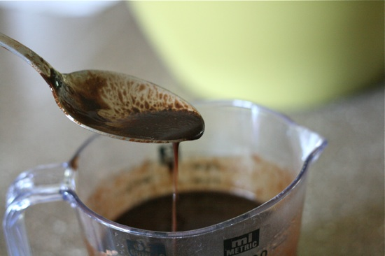Cocoa, Maple Syrup Mixture