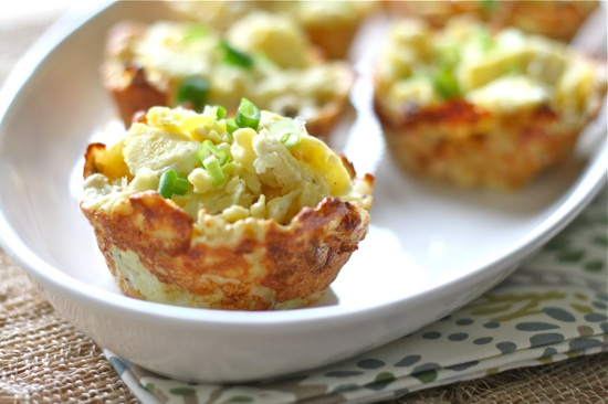 Hashbrown Egg Cups