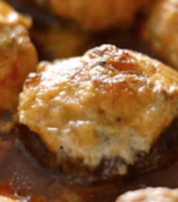 Enchilada Stuffed Mushrooms