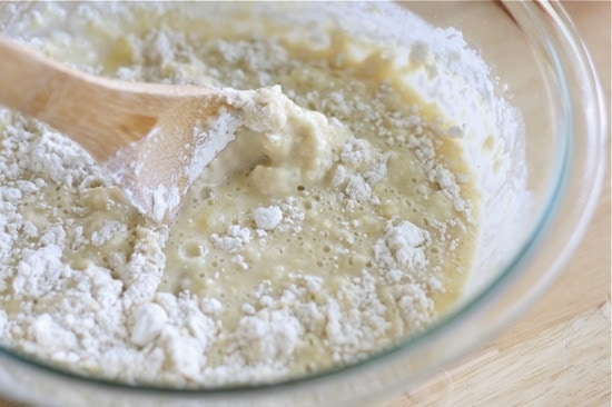 Mixing Dough