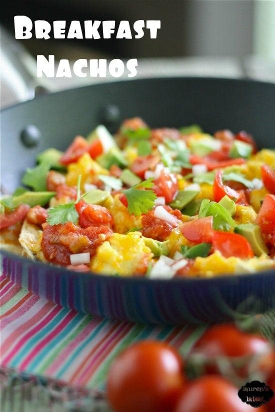 Healthified Breakfast Nachos