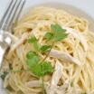 chicken white cheddar spaghetti