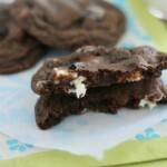 Chewy Double Chocolate Oreo Chunk Cookies