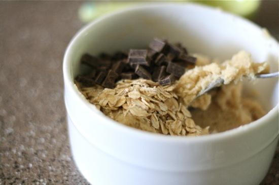Oatmeal mixture