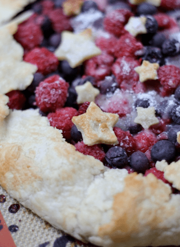 4th of July Double Berry Galette + Silpat GIVEAWAY! {closed}