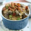 bacon mushroom risotto