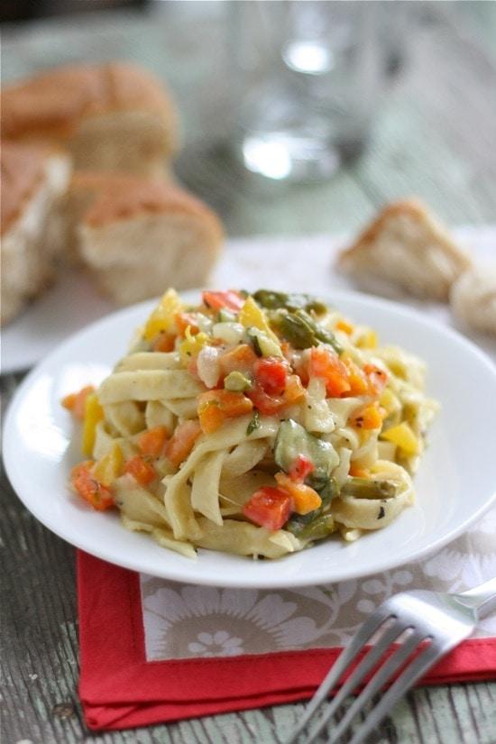 Summer Veggie Pasta Primavera